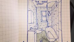 The projects begin: #thisoldhouse bathroom
