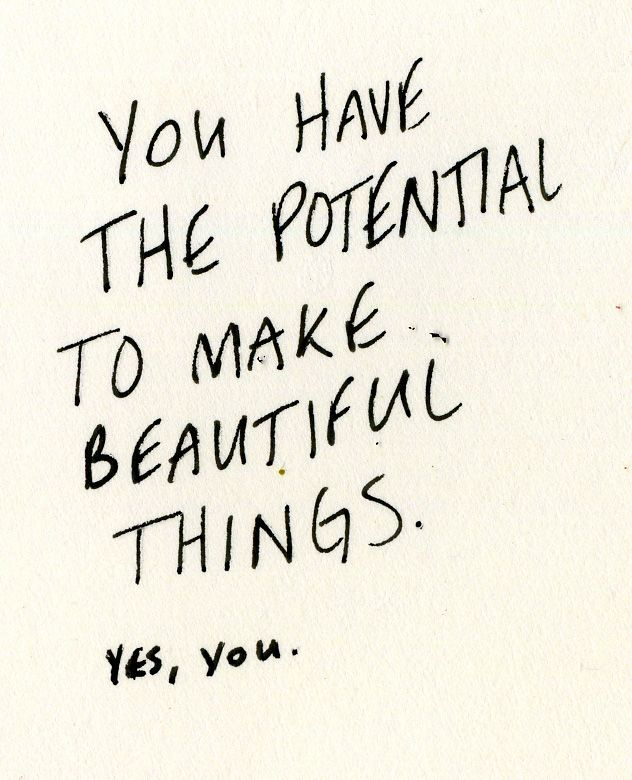 Words of wisdom: your great potential - L² Design, LLC
