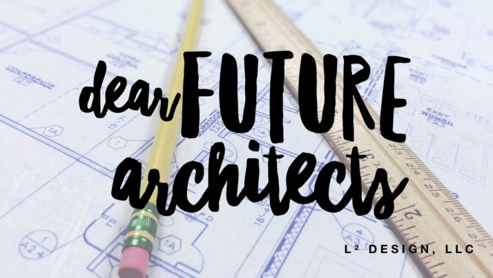 Dear Future Architects: 3 letters